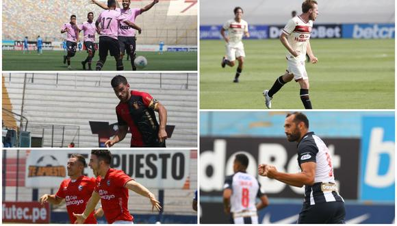 Universitario de Deportes, Alianza Lima, Sport Boys, FBC Melgar y Cienciano están bajo el régimen de los procedimientos concursales en busca de su saneamiento. (Foto: Liga 1,  Melgar y Sport Boys)