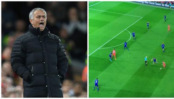 Mourinho: foto demostró que usó el 'autobús' contra Liverpool