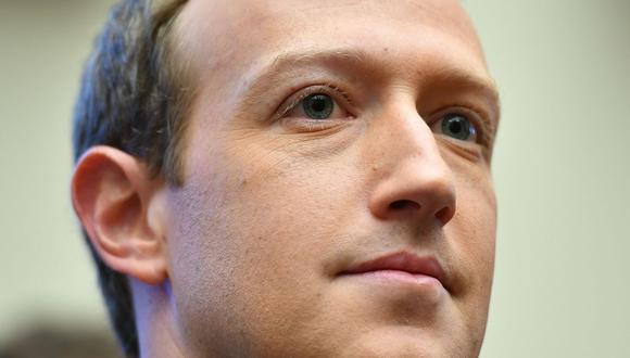 Mark Zuckerberg, el fundador de Facebook, donó millones de dólares para impulsar la lucha contra el nuevo coronavirus. Este año su empresa mostró sus mejores números. (Foto: AFP)