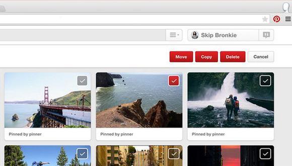 Pinterest anuncia nuevas opciones para organizar los pines