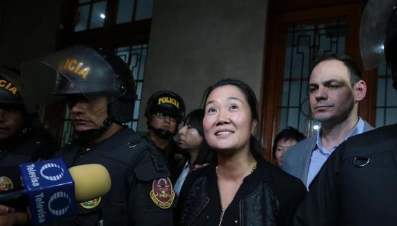 Keiko Fujimori cumple una orden de 36 meses de prisión preventiva. (Foto: GEC)