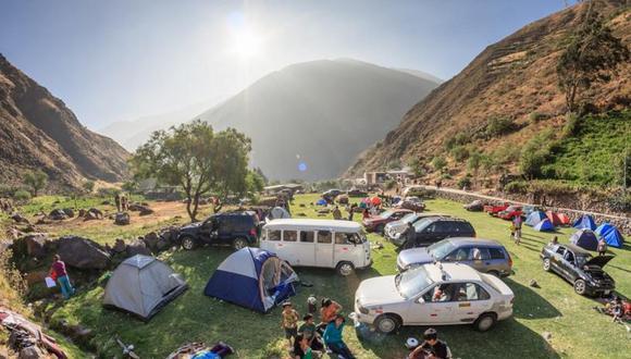 El camping es una de las actividades más comunes en Matucana. (Foto: GEC)
