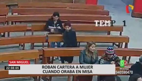 El robo ocurrió en la iglesia San Miguel Arcángel. (24 Horas)
