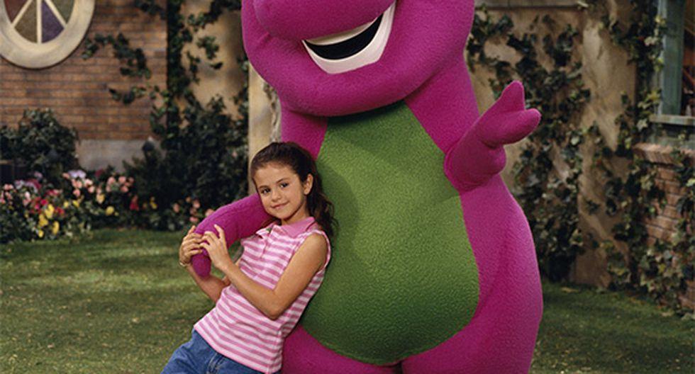 """Selena Gomez participó en varios capítulos del programa infantil """"Barney y sus amigos"""". Foto: Instagram"""