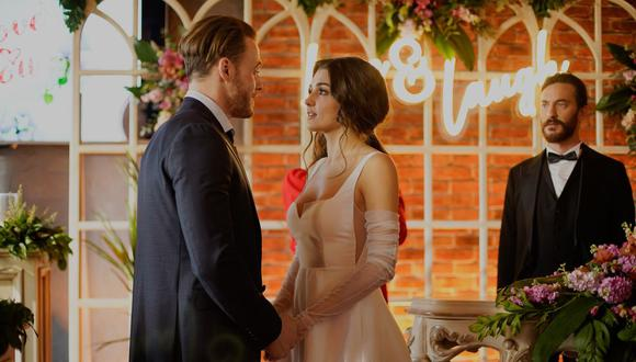 "Imagen del episodio 35 de la telenovela turca ""Love Is in the Air"" (Foto: MF Yapım)"