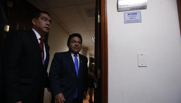 Carlos Ramos Heredia fue fiscal de la Nación hasta que fue destituido por el CNM en el 2015 por su relación con los casos Sánchez Paredes, Rodolfo Orellana, y otros. (Foto: GEC)