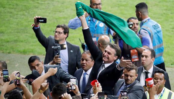 Bolsonaro, que venció las presidenciales de octubre con el 58% de los votos, mejoró su percepción dentro de su grupo de votantes. (Foto: AFP)