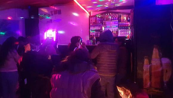 Cusco: Intervienen a más de 20 personas festejando en vivienda convertida en discoteca (Foto: Juan Sequeiros)