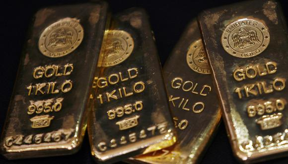 Los futuros del oro en Estados Unidos sumaban un 1,1% a US$ 1.878,50. (Foto: Reuters)