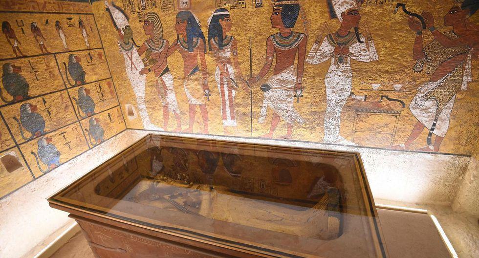 La tumba de Tutankamon. (Foto: AFP)