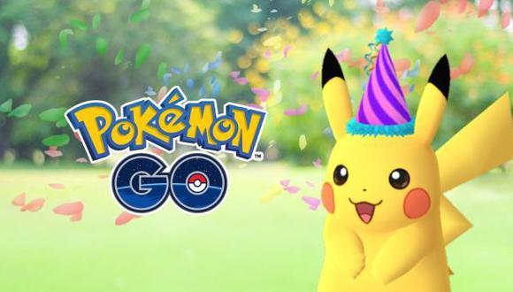 Pokémon Go: Pikachu festivo por aniversario de la franquicia