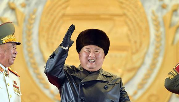 El líder de Corea del Norte Kim Jong-un. (AFP).