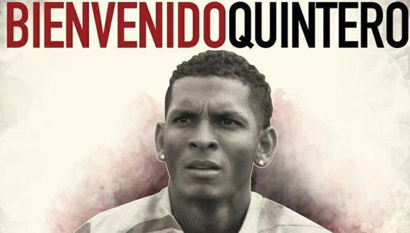 Universitario anunció el fichaje del panameño Alberto Quintero