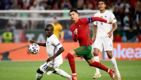 Portugal vs Francia, partidazo por la Eurocopa en Budapest | Foto: @EURO2020