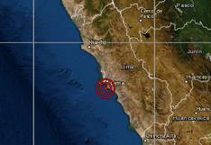 Sismo de magnitud 3,9 se sintió en Lima cerca de la medianoche