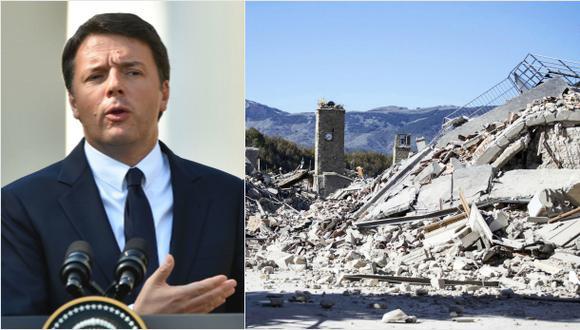 """Terremoto en Italia: """"Reconstruiremos el alma de nuestro país"""""""