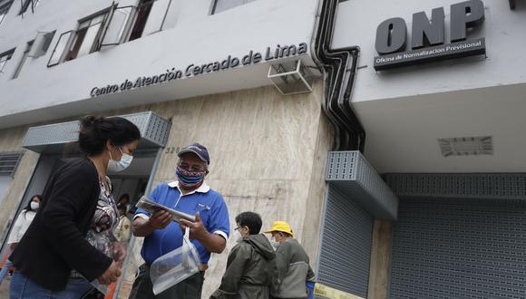 Conoce aquí como acceder a una pensión del sistema nacional de pensiones con una declaración jurada. (Foto: Andina)