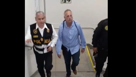 Julio César Zavala Hernández fue detenido cuando regresaba de Cancún a Lima esta mañana. (Video: El Comercio)