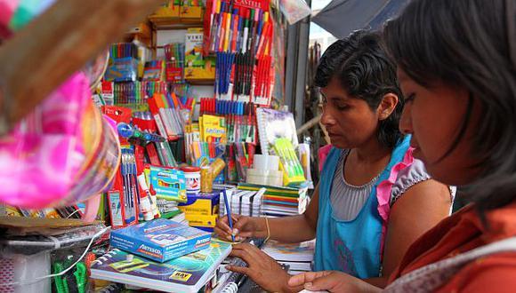 Seis de cada diez padres comprarán útiles escolares al contado