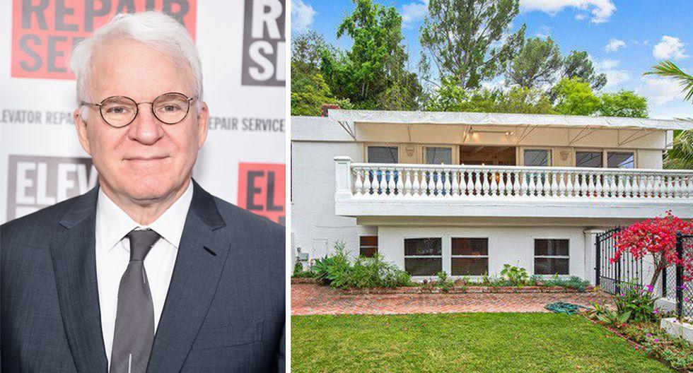 Esta casa de Steve Martín es toda una belleza. Se encuentra en la exclusiva zona de Beverly Hills, en California. (Foto: The MLS)