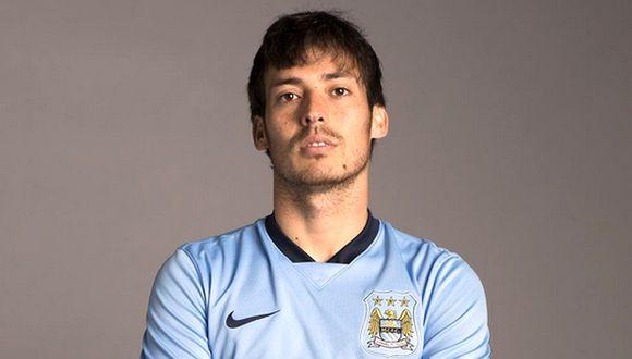 David Silva renovó con el Manchester City hasta el 2019