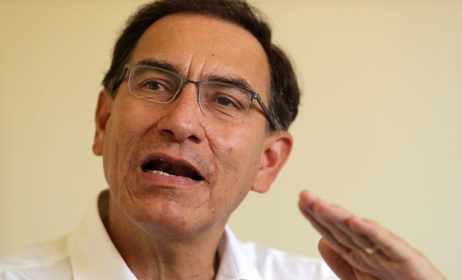 Martín Vizcarramostró su confianza en que el Congreso podrá discutir sus proyectos de reforma a tiempo para que pueda realizarse el referéndum. (Foto: Reuters)