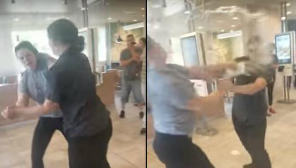 Facebook: la pelea entre una empleada y clienta de McDonald's que se hizo viral