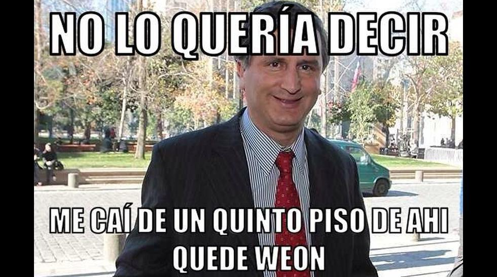 Los memes que se burlaron del político chileno antimemes - 1