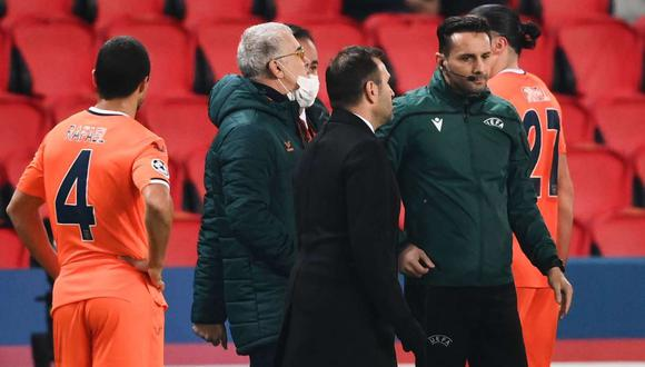 Sebastian Coltescu, cuarto árbitro del PSG vs. Istanbul, rompió su silencio, según medio rumano. (Foto: AFP)