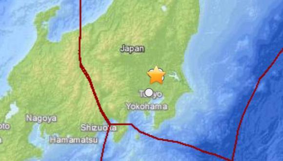 Sismo de 5,6 grados sacude Japón sin alerta de tsunami