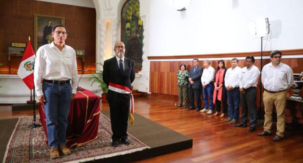 Víctor Zamora reemplaza en el Minsa a Elizabeth Hinostroza. (Foto: GEC)