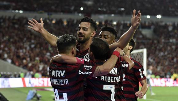 Gremio vs. Flamengo: el 'Mengao' humilló con un contundente 5-0 al 'Tricolor Gaucho'.   Foto: AFP