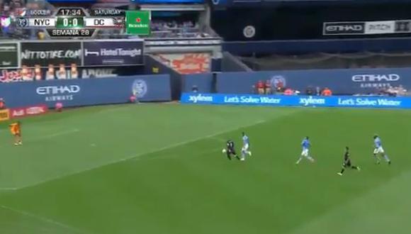 Alexander Callens ha sido titular en toda la temporada de la MLS en New York City. (Captura: YouTybe)