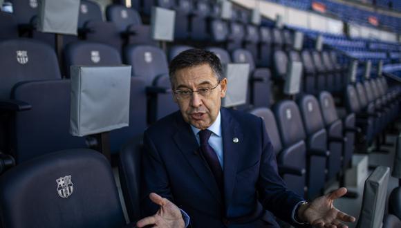 Josep María Bartomeu es presidente del Barcelona desde el 2015. (Foto: EFE)