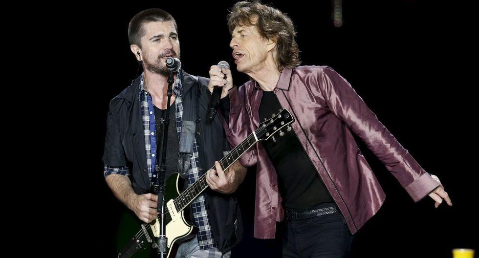 The Rolling Stones: Juanes será el invitado especial de la banda en su concierto en Miami. (Foto: Reuters)