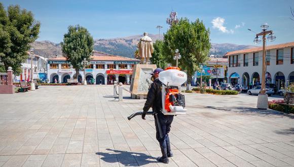 Huaraz vivirá su aniversario en medio de una tragedia por las decenas de muertes que está dejando el COVID-19 y por las enormes repercusiones económicas de esta crisis mundial (Municipalidad Provincial de Huaraz)