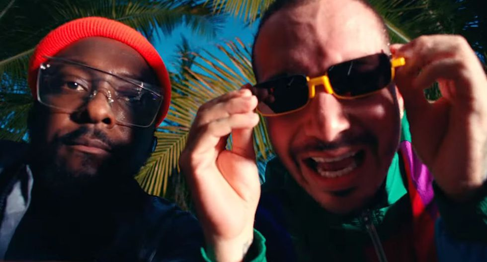 "J Balvin estrenó ""RITMO"",  la canción que grabó con Black Eyed Peas para la película ""Bad Boys For Life"". (Foto: Captura de video)"