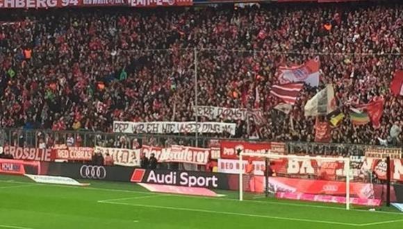 Los hinchas del Bayern Múnich humillan a Pep Guardiola