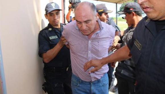 Roberto Torres, ex alcalde de Chiclayo, fue sentenciado a siete años de prisión al ser hallado culpable del delito de colusión agravada (corrupción de funcionarios). (Foto: archivo)