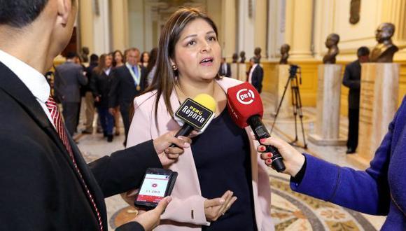 Karina Beteta denuncia ser amenazada por Sendero Luminoso