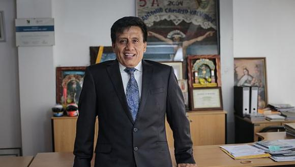 Antonio Camayo cumple 36 meses de prisión preventiva en el penal Castro Castro por presuntamente pertenecer a Los Cuellos Blancos del Puerto. (Foto: Hugo Pérez / El Comercio)