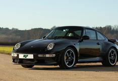 Un peculiar Porsche 911 Turbo de Ruf que logra superar los 500 hp   FOTOS