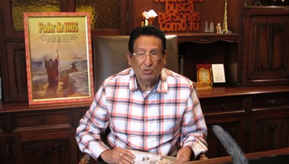 El pastor evangélico y empresario Vicente Díaz Arce fue detenido el pasado 27 de octubre en su casa en Surco, luego de permanecer oculto al interior del inmueble. (Captura)