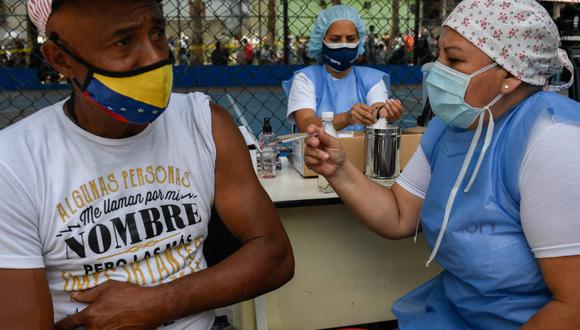 Coronavirus en Venezuela | Últimas noticias | Último minuto: reporte de infectados y muertos por COVID-19 hoy, miércoles 23 de junio del 2021.  (Foto: Federico Parra / AFP)