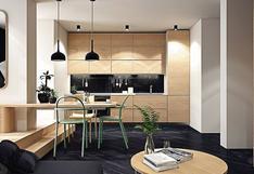 Este minidepartamento de 42m2 proyecta calidez y estilo | FOTOS