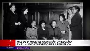 Nuevo Congreso tendrá el mayor número de mujeres en la historia del Perú