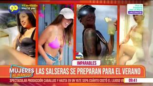 Cantantes peruanas de salsa ya entrenan para este verano