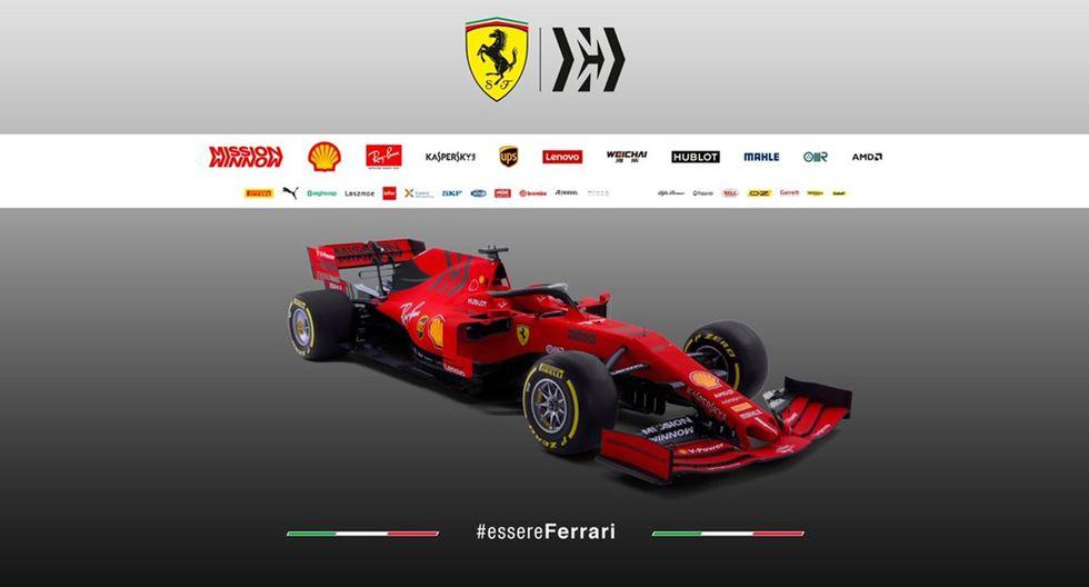 Este será el monoplaza que piloteará Sebastian Vettel y Charles Leclerc durante esta temporada de la F1. (Fotos: Ferrari).
