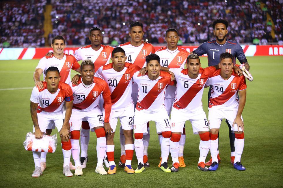 Perú perdió ante Costa Rica, en el amistoso por la fecha FIFA jugado en Arequipa. (Foto: Jesús Saucedo)