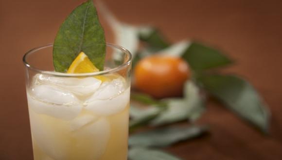 Chilcano de eucalipto y mandarina del Mayta
